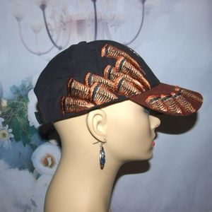 Mountain Lake Accessories - Turkey Hunter Hat Thanksgiving Hat NWT
